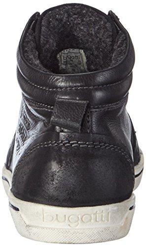 Bugatti F97561, Baskets hautes homme Noir - Noir