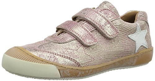 Bisgaard Unisex-Kinder Klettschuhe Low-Top, Pink (710 Rose), 35 EU