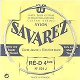 Savarez Saiten Für Klassik-Gitarre Traditional Concert 524J Einzelsaite - D4W High - Passend Zum Satz 520J