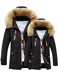 Trenchcoat Paare ,Dasongff Unisex Paare Bluse Frauen Outdoor Steppjacket  Mantel Pelz Wolle Fleece Warme Wintermantel 535c70f218