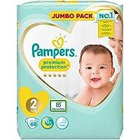 Pampers Premium Protection Größe 2, Windel x68, 4kg-8kg