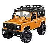B Blesiya Kit Camion 2.4Ghz Télécommandé Pick-up Voiture 4 Roues - Jaune