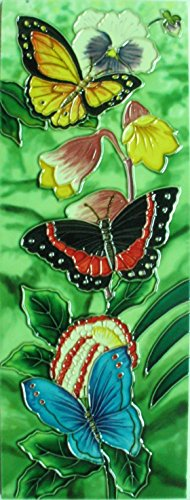 yh-arts-butterfly-gathering-ceramic-tiles-multi-colour-6-x-16-inch