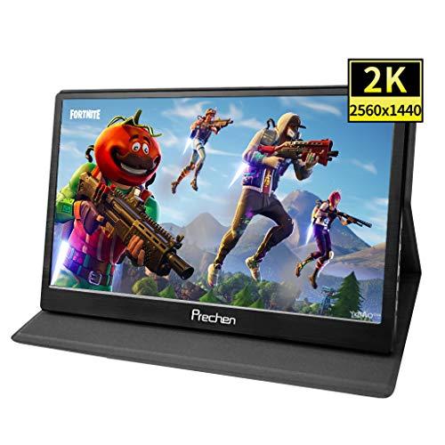 13.3 pollici 2k 2560x1440 Portatile Monitor Full HD IPS LED Gaming Schermo con doppia HDMI/USB interfaccia Per Xbox PC portatile per PC/PS3 / PS4 /Raspberry Pi/Xbox 360/Nintendo ect