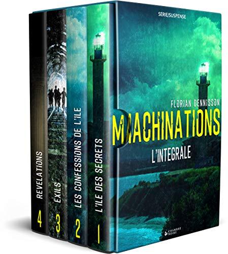 Couverture du livre Machinations (thriller): L'intégrale