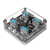Best Hubs USB Orico - ORICO MH4U 4 Ports USB3.0 Bureau Transparent MOYEUX Review