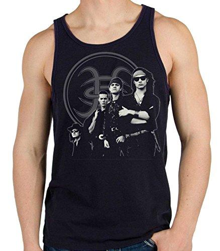 35mm - Camiseta Hombre Tirantes - Heroes Del Silencio - Senderos De Traición - Men'S Tank Top, NEGRA, L