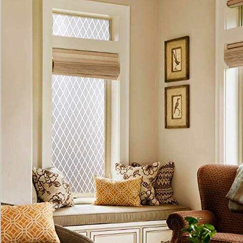 QTQHOME sin Pegamento Helado Privacidad Window Films,Electricidad estática Ligero Opaco Decoración Protección Window Films para Varios Suave Vaso Superficie-A 70x200cm(28x79inch)