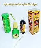 Pack 1 kajal árabe polvo natural sin plomo curativo + 1 pintalabios...