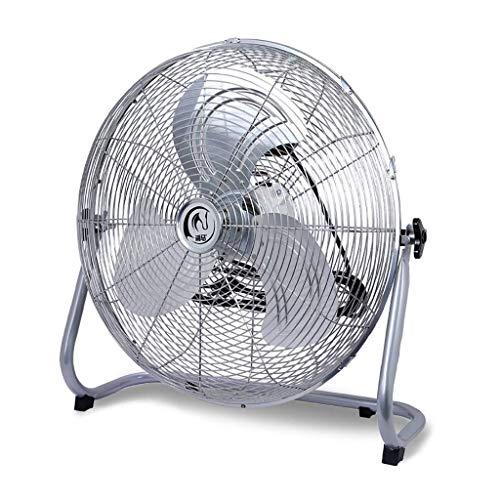 DLLD Fan Fan Tre Pagine a Tre velocità 130 \u0026 DEG; Regolazione Manuale su e Giù del Ventilatore in Ferro battuto per Alpinismo Ventilatore da Pavimento Forte Ventilatore Indust