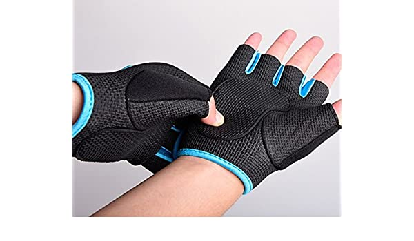 Belt Body Building Fitness Gym Gloves Crossfit Weight Lifting Gloves For Men