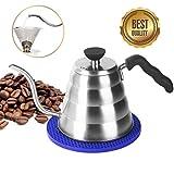 Kaffeekanne Edelstahl Teekessel Elektrisch