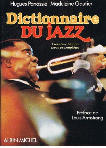 Dictionnaire du jazz par Hugues Panassié