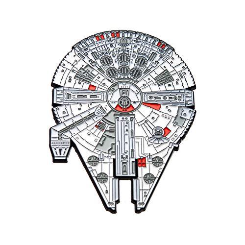 SalesOne International, LLC Star Wars Millennium Falcon Emaille-Anstecknadel 7,6 x 5,7 cm
