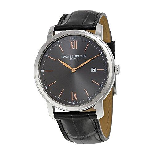 baume-mercier-classima-reloj-para-hombre-y-esfera-pizarra-caja-acero-correa-cocodrilo-negro