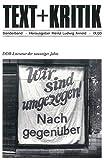 Image de DDR-Literatur der neunziger Jahre (TEXT+KRITIK Sonderband)