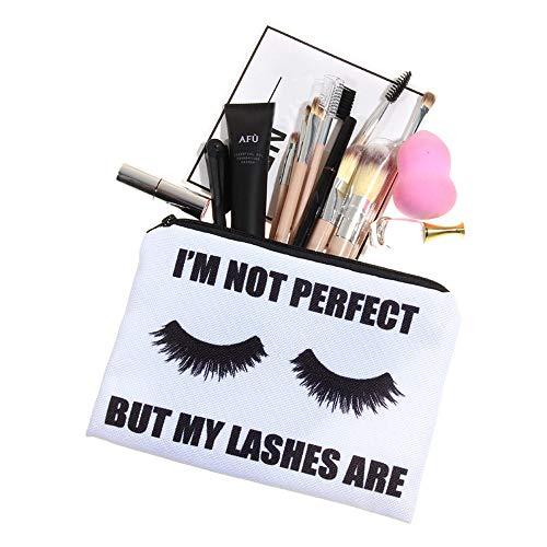 TAOtTAO Cosmetic Bag Frauen Briefe Druck Make-up Kosmetiktasche Kulturbeutel Lagerung Reise Wash Handtasche (E)