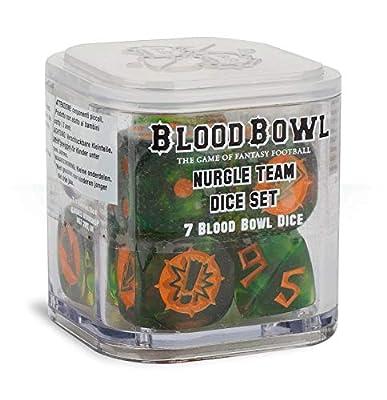 Games Workshop Blood Bowl - Nurgle Team Dice Set 200-22