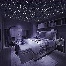 Leuchtsterne zum Kleben auf Wand oder Decke