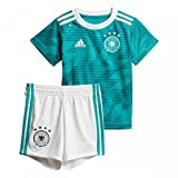 adidas Baby DFB Away Babykit, EQT Green s16/White/Real Teal s10, 86