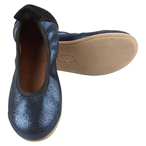 EN FANT Ballerinas, Ballerines fille Bleu - Blau (Blue 32)