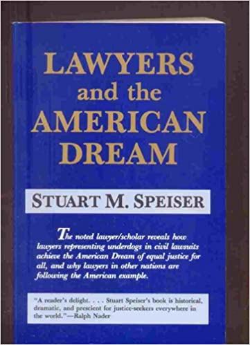 Lawyers and the American Dream: Amazon co uk: Stuart M