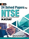 #8: NTSE 24 Solved Papers (SAT/MAT)