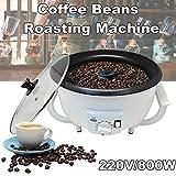 OOFAT Kaffeemaschine, Mini Electric Espresso Kaffeebohnen Röstmaschine, Mit Verbrühschutz Griff Und Klarglasabdeckung, Für Haushalt Küche