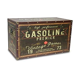 BUAR ARTESANOS Malle en Bois pour Le Stockage Gasoline (50x22x22 cm.)