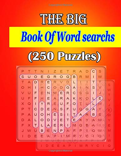 The Big Book Of Word searchs (250 Puzzles): Are you searching Puzzle your ?  stimulating puzzle activities for many hours of entertainment. por ja kiw