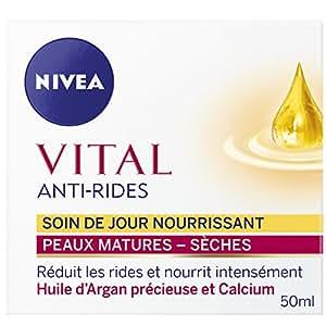 Nivea Vital Anti-Rides Soin Jour Nourrissant Peaux Matures et Sèches 50 ml