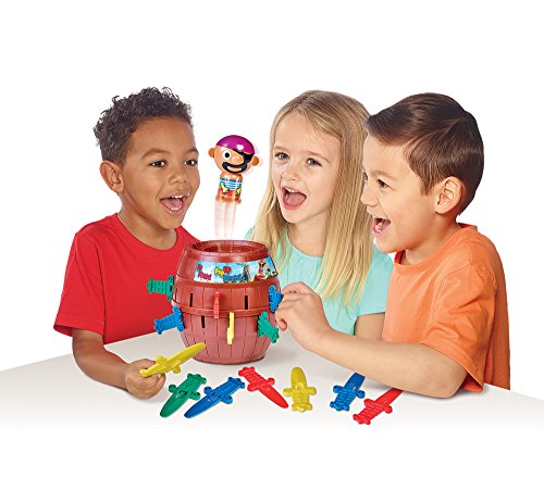 """Tomy Kinderspiel """"Pop Up Pirate"""" – hochwertiges Aktionsspiel für die ganze Familie – Piratenspiel verfeinert die Geschicklichkeit Ihres Kindes – ab 4 Jahre - 2"""