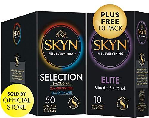 SKYN® Selection - Paquete 50 preservativos sin látex