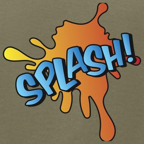 Superheld Splash - Herren T-Shirt - 13 Farben Khaki