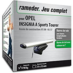Rameder Pack Barres de Toit Pick-Up pour Opel Insignia A Sports Tourer (111287-07861-20-FR)
