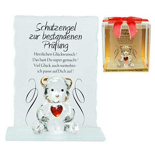 Schutzengel Schutzbär zur bestandenen Prüfung - ein Glücksbringer in schöner Geschenkbox