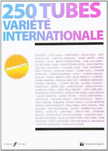 250 Tubes Variete Internationale paroles et accords par Collectif