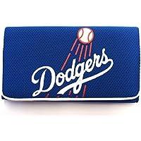 Preisvergleich für Los Angeles Dodgers Damen Mesh Trifold Organizer Clutch Wallet von Rico