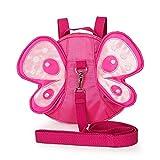 EQLEF® Schmetterlings-Baby-Fuß-Sicherheitsgurt Reins Kleinkind -Leine-Kind-Kind-Bügel
