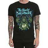 Men's Fashion T-Shirt The Black Dahlia Murder Miasma Punk Rock Short Sleeve T Shirts Casual Summer Dress Printed Tops