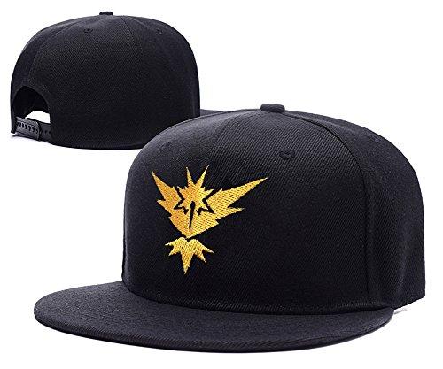 shuyi-pokemon-go-team-instinct-logo-cap-embroidery-adjustable-snapback-hat