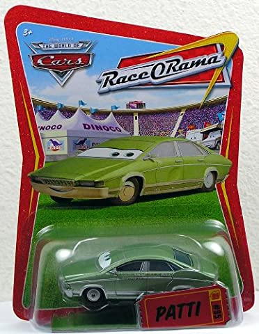 Disney / Pixar CARS Movie 1:55 Die Cast Car Series 4 Race-O-Rama Patti Mattel