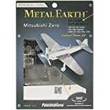 Metal Earth - 5061028 - Maquette 3D - Aviation - Mitsubishi Zero - 12,5 x 10 x 2 cm - 1 pièce