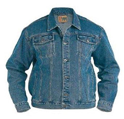 Duke Denim Herren Jacken, Gr. S-XXL und große 1XL King size, XXL, 3XL, 4XL, 5XL, 6XL - Blue Stonewash