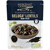 Merchant Gourmet Beluga Lentils 250G Ready To Eat by Merchant Gourmet