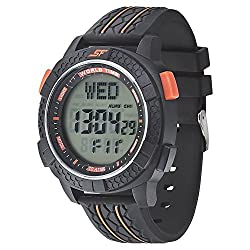SONATA SF by Sonata Carbon II Series Digital Watch (77058PP04J)