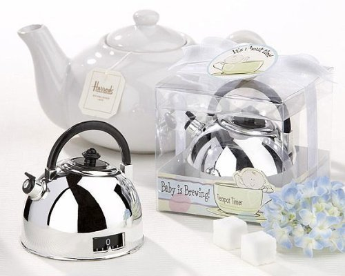 Preisvergleich Produktbild It's About Time - Baby is Brewing Teapot Timer -48 count by Kate Aspen