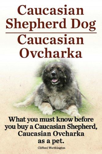 Caucasian Shepherd Dog. Caucasian Ovcharka. What you must know before you buy a Caucasian Shepherd Dog, Caucasian Ovcharka as a pet. (English Edition) -