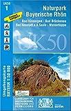 Nationalpark Bayerische Rhön 1 : 50 000 (UK 50-1) (UK50 Umgebungskarte 1:50000 Bayern Topographische Karte Freizeitkarte Wanderkarte)