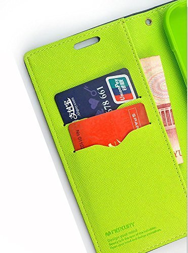 SDO Diary Wallet Style Mercury Flip Cover Case for Coolpad Note 3 Plus (5.5 inch) (Blue)